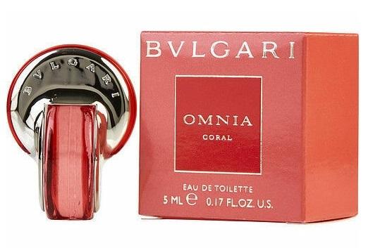 Туалетная вода 5 мл Bvlgari Omnia Coral