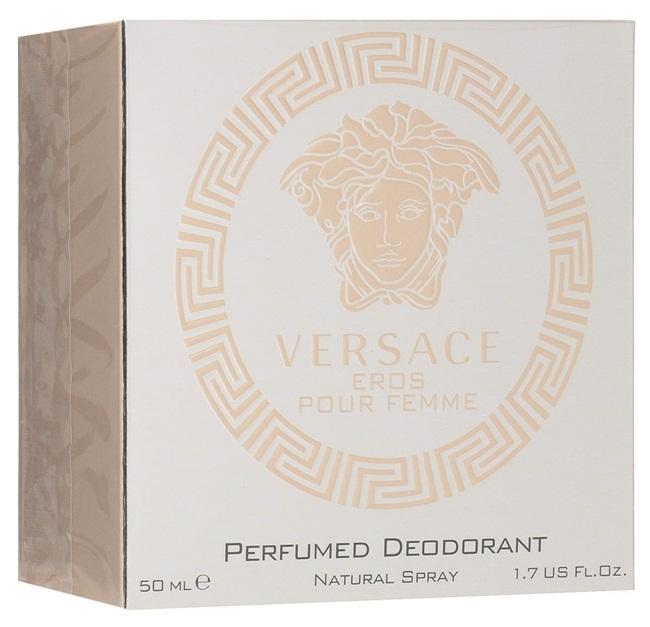 Дезодорант-спрей 50 мл Versace Eros Pour Femme