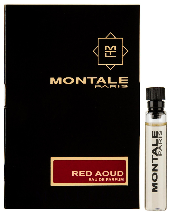 Парфюмерная вода 2 мл Montale Red Aoud