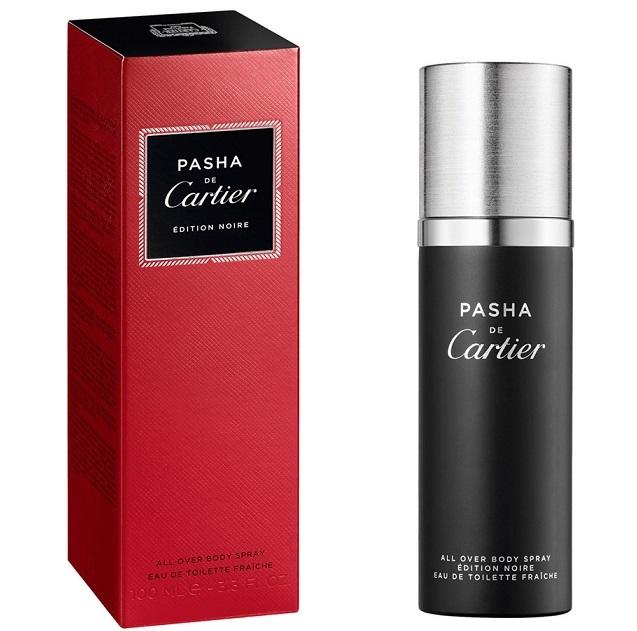 Спрей для тела 100 мл Cartier Pasha Edition Noire