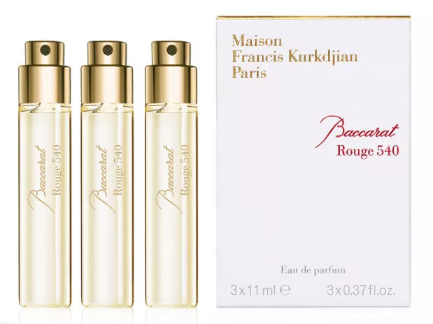 Набор (парфюмерная вода 11 мл x 3 шт.) Maison Francis Kurkdjian Baccarat Rouge 540
