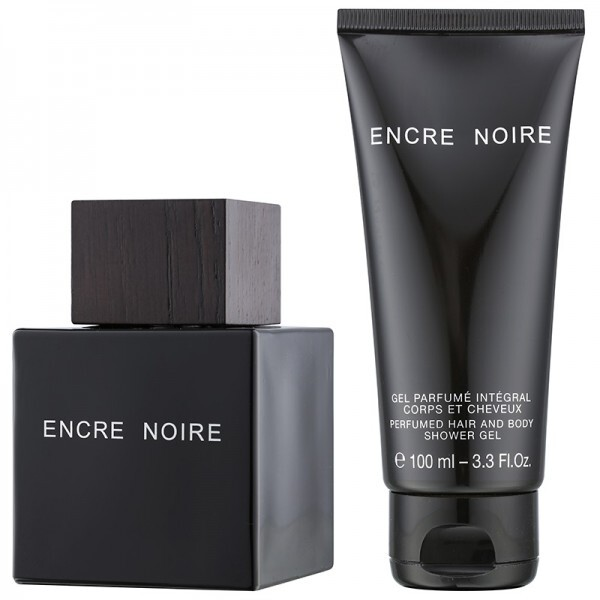 Набор (туалетная вода 50 мл + гель для душа 100 мл) Lalique Encre Noire
