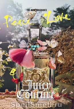Juicy Couture Peace Love and Juicy Couture