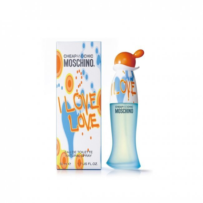 Туалетная вода 50 мл Moschino Cheap and Chic I Love Love