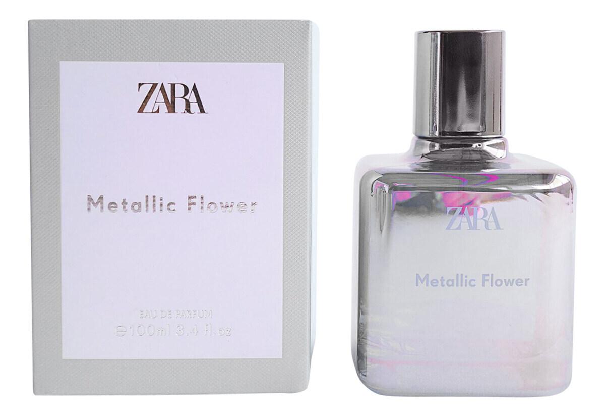 Zara Metallic Flower