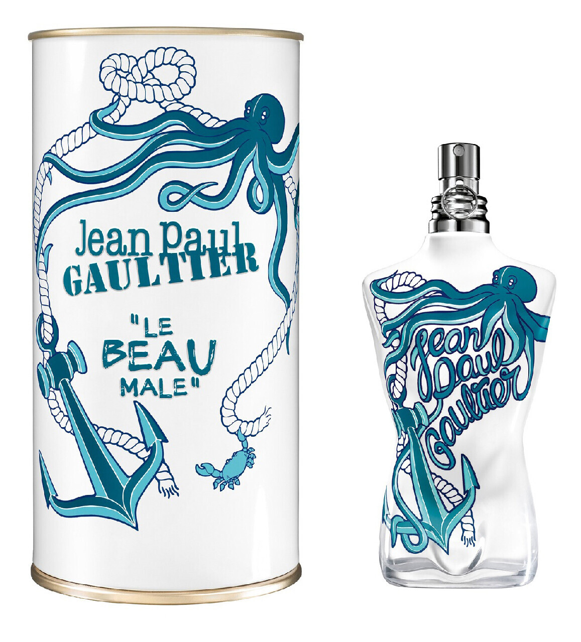 Jean Paul Gaultier Le Beau Male Summer 2014