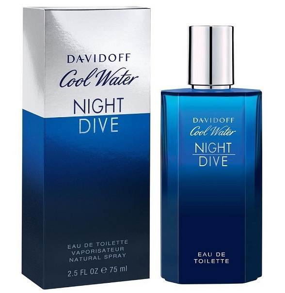 Туалетная вода 75 мл Davidoff Cool Water Night Dive