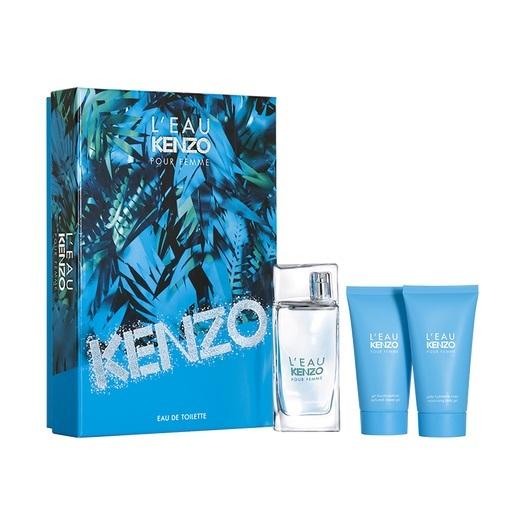 Набор (туалетная вода 50 мл + гель для душа 50 мл + желе для тела 50 мл) Kenzo L Eau Par Kenzo