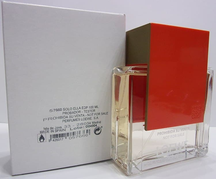 Парфюмерная вода (тестер) 100 мл Loewe Solo Loewe Ella