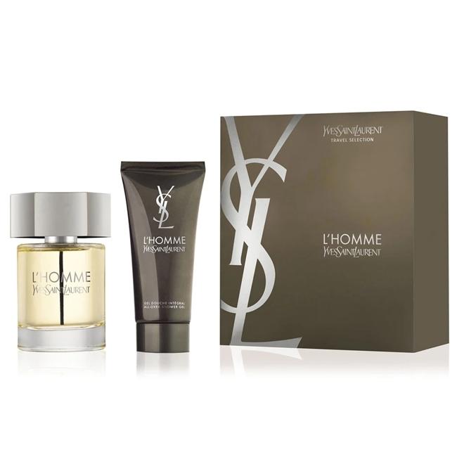 Набор (туалетная вода 100 мл + гель для душа 100 мл) Yves Saint Laurent L Homme