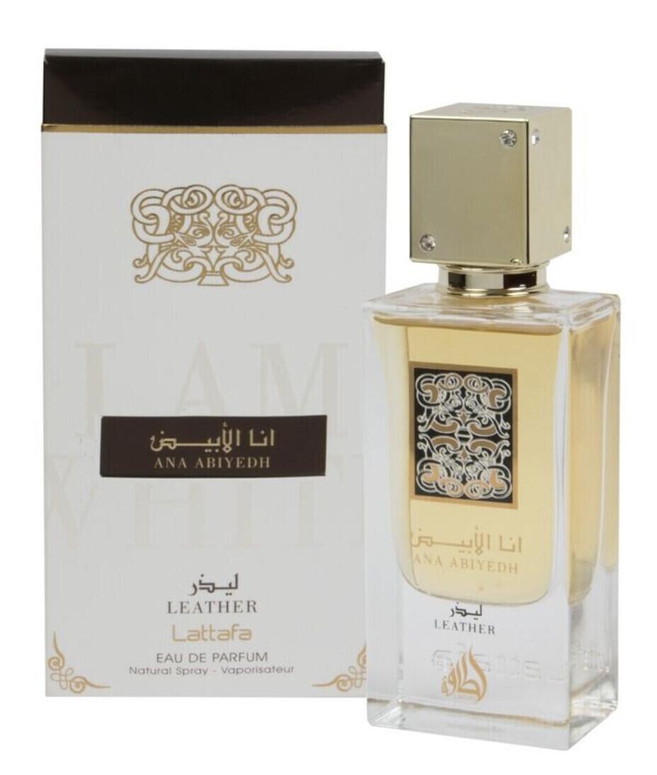 Lattafa Perfumes Ana Abiyedh Leather