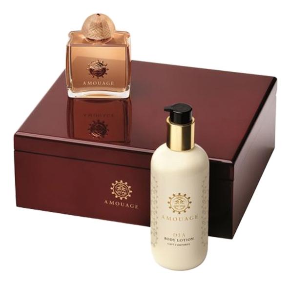 Набор (парфюмерная вода 100 мл + лосьон для тела 300 мл) Amouage Dia Woman