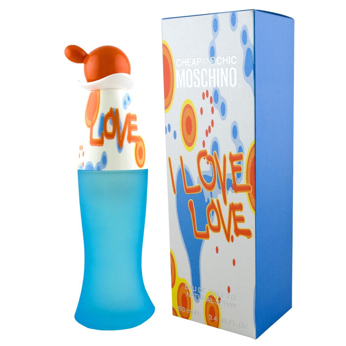 Туалетная вода 100 мл Moschino Cheap and Chic I Love Love