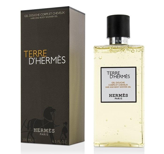 Гель для душа 200 мл Hermes Terre D`Hermes