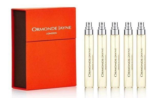 Набор (парфюмерная вода 8 мл x 5 шт.) Ormonde Jayne Orris Noir