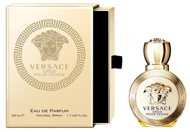 Парфюмерная вода 50 мл Versace Eros Pour Femme