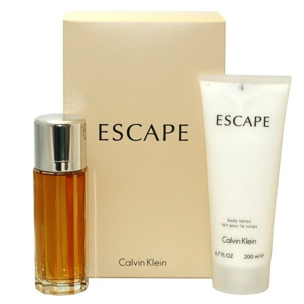 Набор (парфюмерная вода 100 мл + лосьон для тела 200 мл) Calvin Klein Escape