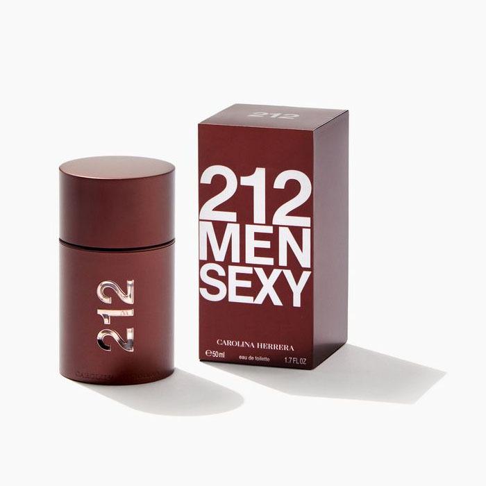 Туалетная вода 50 мл Carolina Herrera 212 Sexy Men