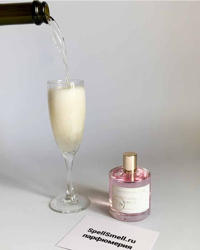 Парфюмерная вода 100 мл Zarkoperfume PINK MOLeCULE 090 09