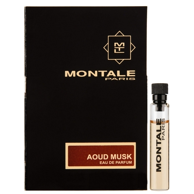 Парфюмерная вода 2 мл Montale Aoud Musk