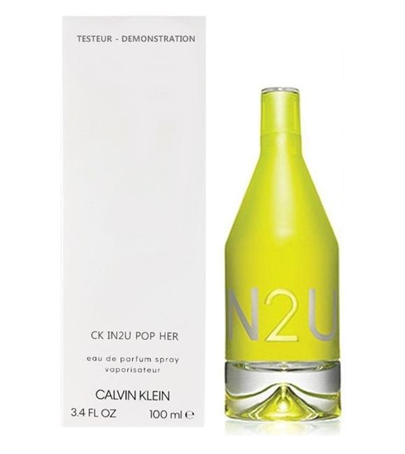 Туалетная вода (тестер) 100 мл Calvin Klein CK In2u Pop Her