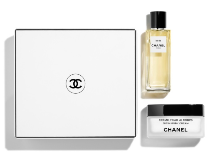 Набор (парфюмерная вода 75 мл + крем для тела 150 мл) Chanel Beige
