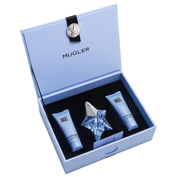 Набор (парфюмерная вода 25 мл + гель для душа 50 мл + лосьон для тела 50 мл) Thierry Mugler Angel