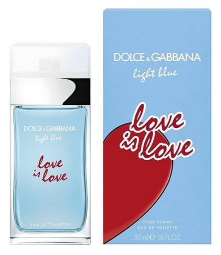 Туалетная вода 50 мл Dolce & Gabbana Light Blue Love Is Love Women