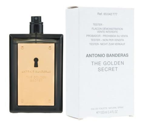 Туалетная вода (тестер) 100 мл Antonio Banderas The Golden Secret