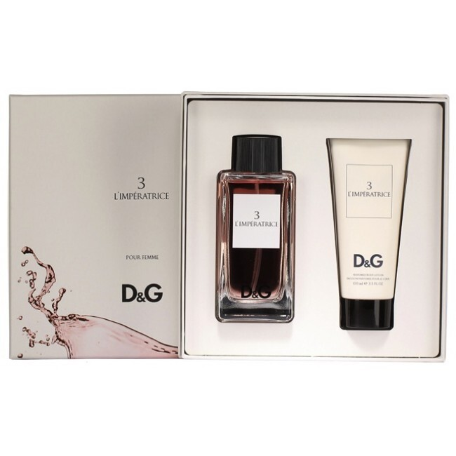 Набор (туалетная вода 100 мл + лосьон для тела 100 мл) Dolce & Gabbana DG Anthology L Imperatrice 3