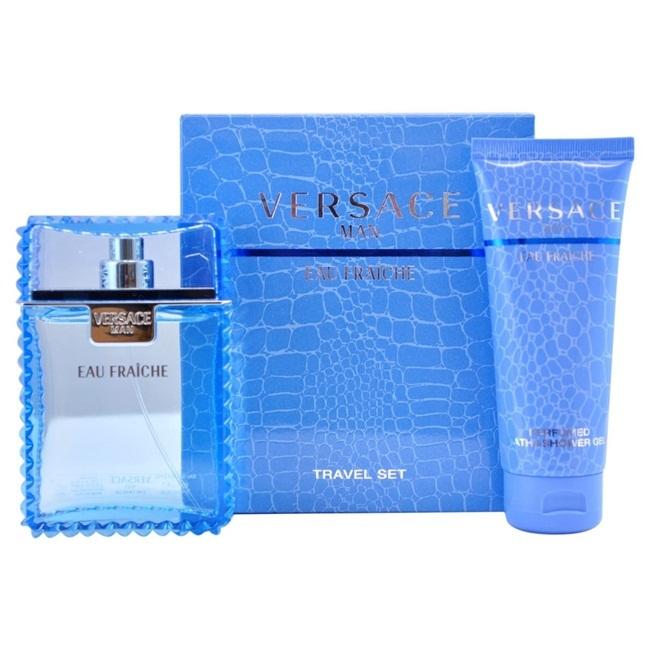 Набор (туалетная вода 100 мл + гель для душа 150 мл) Versace Versace Man Eau Fraiche