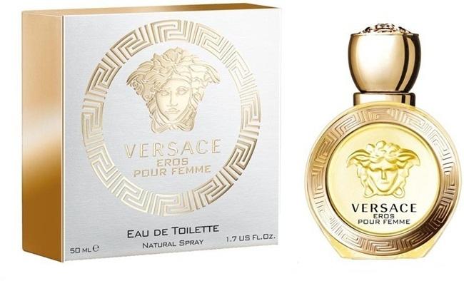 Туалетная вода 50 мл Versace Eros Pour Femme Eau de Toilette