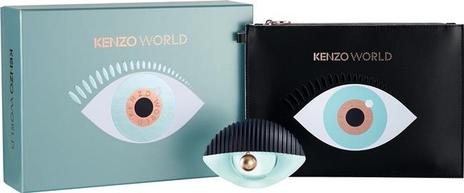 Набор (парфюмерная вода 50 мл + косметичка) Kenzo World