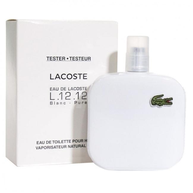 Туалетная вода (тестер) 50 мл Lacoste L 12 12 Blanc