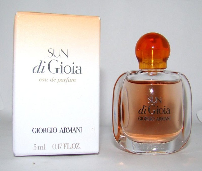Парфюмерная вода 5 мл Giorgio Armani Sun di Gioia