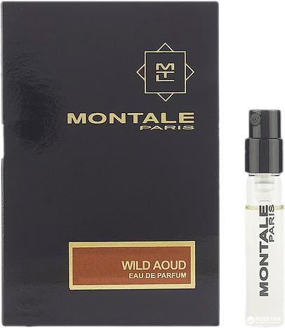 Парфюмерная вода 2 мл Montale Wild Aoud