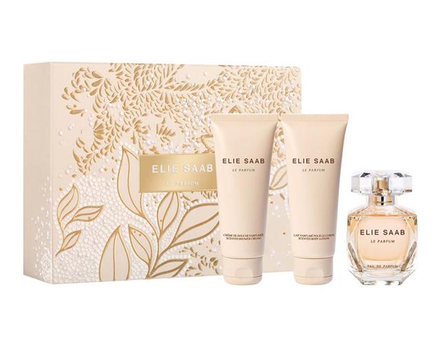 Набор (парфюмерная вода 50 мл + гель для душа 75 мл + лосьон для тела 75 мл) Elie Saab Le Parfum