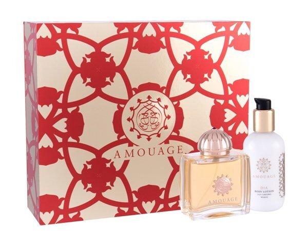 Набор (парфюмерная вода 100 мл + лосьон для тела 100 мл) Amouage Dia Woman