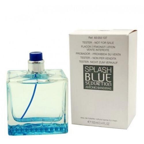 Туалетная вода (тестер) 100 мл Antonio Banderas Splash Blue Seduction for Men