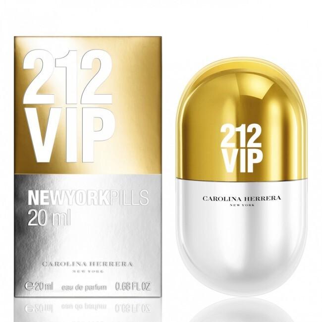 Парфюмерная вода 20 мл Carolina Herrera 212 Vip Pills