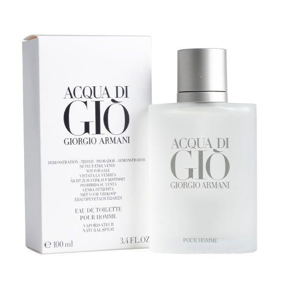 Туалетная вода (тестер) 100 мл Giorgio Armani Acqua Di Gio