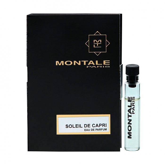 Парфюмерная вода 2 мл Montale Soleil de Capri