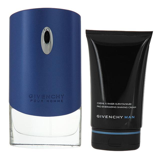 Набор (туалетная вода 50 мл + крем для бритья 125 мл) Givenchy Givenchy Pour Homme Blue Label