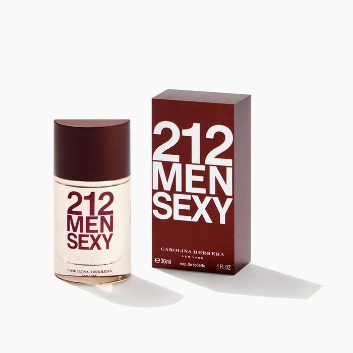 Туалетная вода 30 мл Carolina Herrera 212 Sexy Men