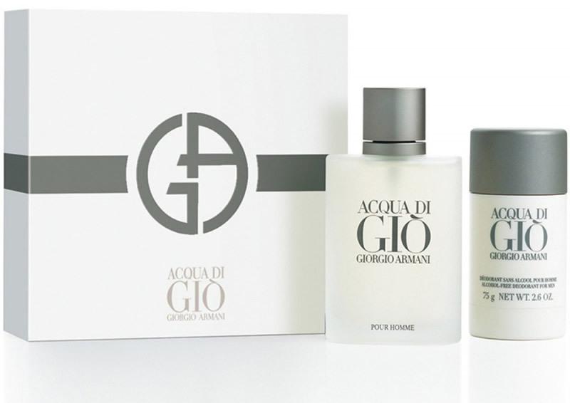 Набор (туалетная вода 100 мл + дезодорант-стик 75 мг) Giorgio Armani Acqua Di Gio