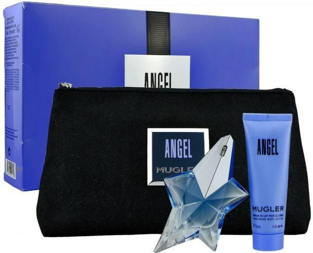 Набор (парфюмерная вода 25 мл + лосьон для тела 50 мл + косметичка) Thierry Mugler Angel
