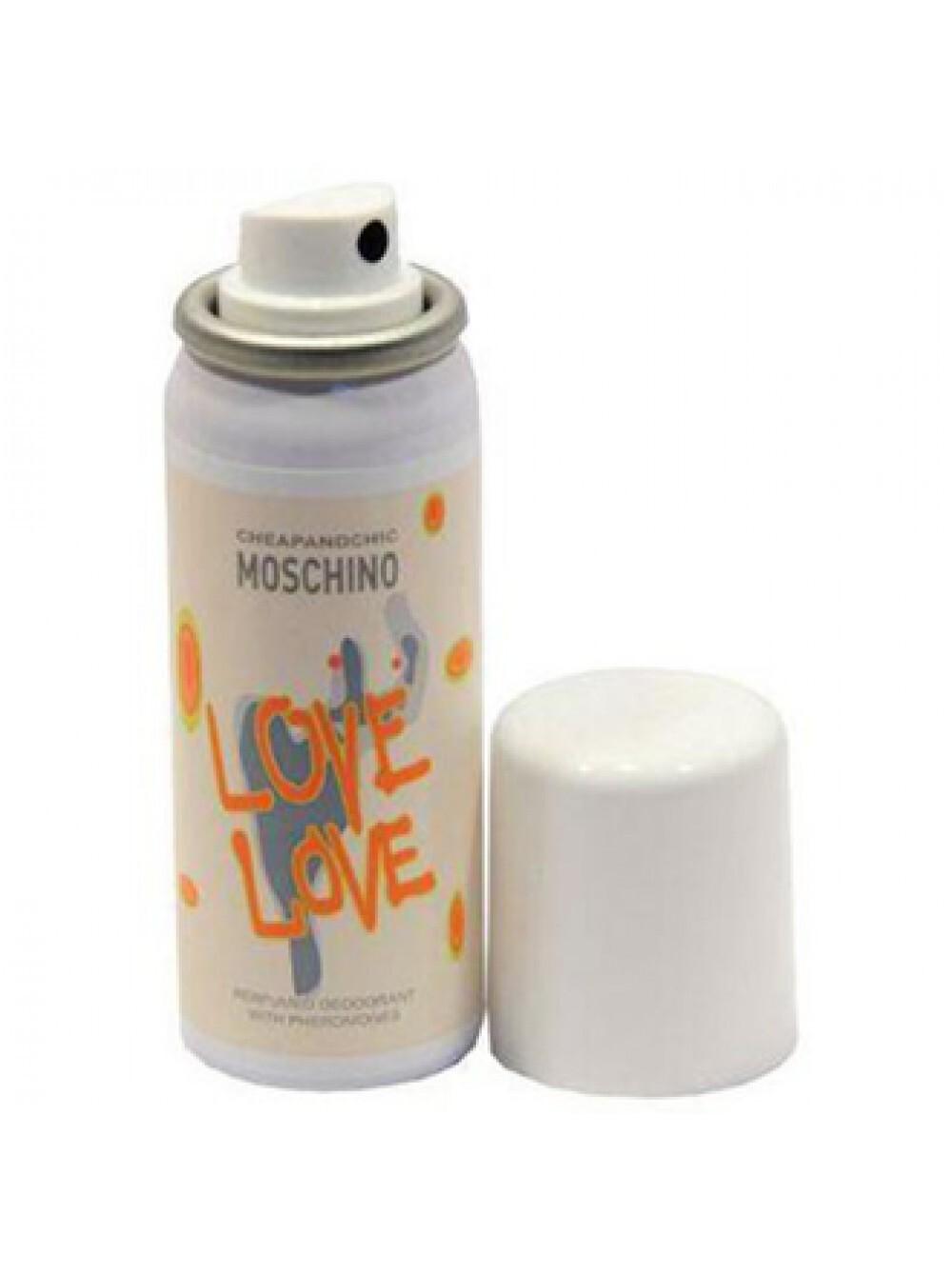 Дезодорант-спрей 50 мл Moschino Cheap and Chic I Love Love