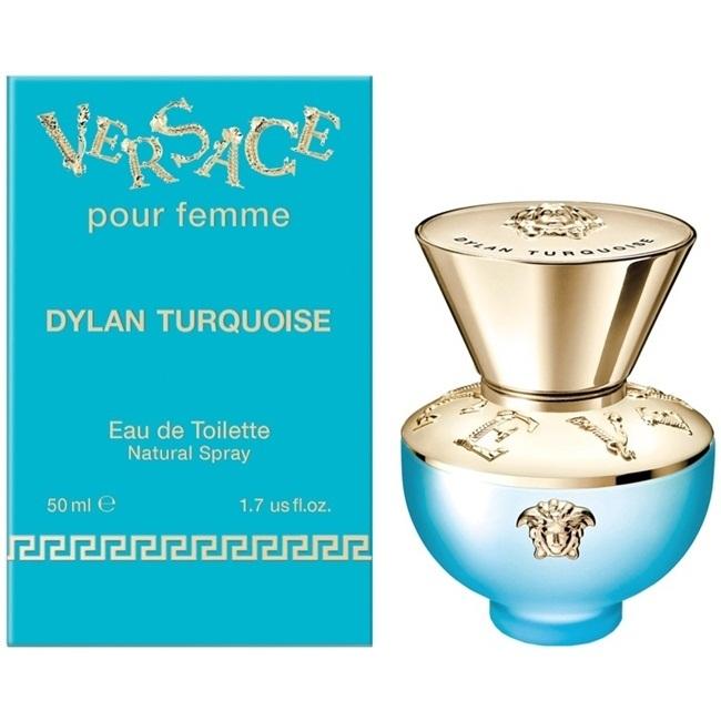 Туалетная вода 50 мл Versace Dylan Turquoise Pour Femme