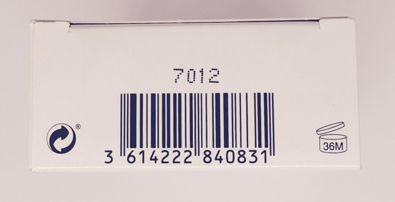 Туалетная вода (тестер) 100 мл Calvin Klein CK One Summer 2017 - фото штрих-кода и батч-кода на коробке