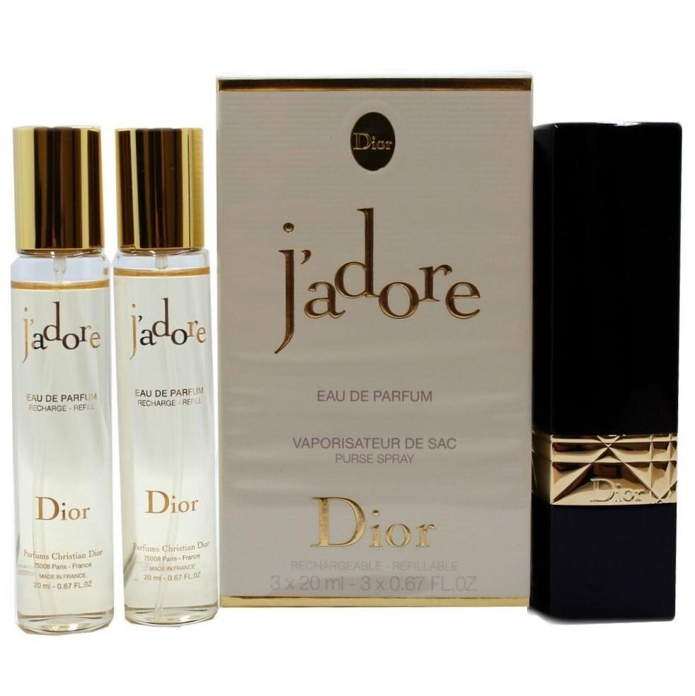 Набор (парфюмерная вода 20 мл x 3 шт.) Christian Dior J Adore